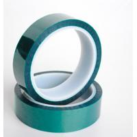 China Green Polyester Silicone Tape wholesale