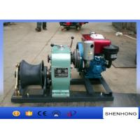 China Small 5 Ton Reversing Cable Pulling Tools Winch With Water Cooled Diesel Engine wholesale
