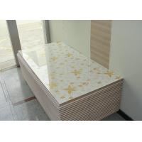 China High Glossy 4 x 8 MDF Board White Melamine Board 18mm For Kitchen Cabinet Door wholesale