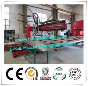 China Corrugated Beam Welding Machine For Dump Truck Panel , H Beam Welding Line wholesale