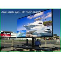 China Weather Proof Outdoor LED Displays Huge Led Screen For Airport / Highway 10mm wholesale