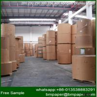 China Manufacturer of 300g White Coated Waste Paper Carton Duplex Board wholesale