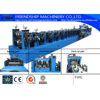 Buy cheap Cold Rolled Or Galvanized C Z Purlin Roll Forming Machine With 15m/Min from wholesalers