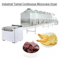 China Industrial Tunnel Continuous Microwave Dryer foam insulation board type of heating on sale