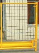 China Guardrail Ladder Scaffolding Frames Shot Blasting Colored Powder Coated For Construction wholesale