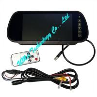 China 7 inch TFT Color Mirror LCD Car Rearview Mirror wholesale