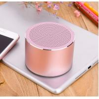 Aluminium Wireless Speakers Outdoor Portable Mini Speaker With LED