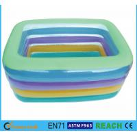 China Eco Friendly PVC OEM&ODM Square Swimming Pools,Crystal Blue Inflatable Baby Pool wholesale