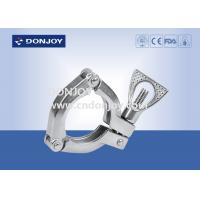 China Heavy Duty Clamp DIN 10-DN300 Size With Wing Nut Sandblasting Finish wholesale