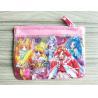 China Cute Girl Reusable Ziplock Bags / Offset Printing PVC Pencil Case wholesale