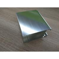 China Silver White Polished Aluminium Profile Door And Window Accessories wholesale