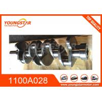 China Engine High Performance Crankshafts For Mitsubishi L200 4D56U 1100A028 1100A135 wholesale