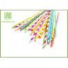 China Unique Party Decorations Party Paper Straws Biodegradable 50pcs / Bag wholesale