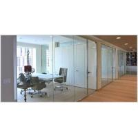 China Free Design Hot Selling Foldable Wall Standard Conference Room Frameless Glass Partition Wall System wholesale