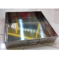 Quality Stainless steel tray 31cm tray ss201 tray with handle tray tools tray rice cooking tray for sale