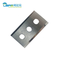 China High Precision 60mm Length 0.3mm 3 Holes Film Cutting Blade wholesale