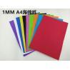 China Red blue 1 mm A4 cmx29 20 cm origami roses 24 color length29cm 20 cm width sponge Eva plastic DIY manual paper wholesale