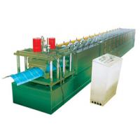 China Ridge cap, roof tile roll forming machine, hydraulic cutting with PLC controlling wholesale