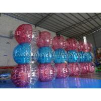 China Inflatable Garden Toys Large Body Bubble Ball , Inflatable Bubble Soccer on sale