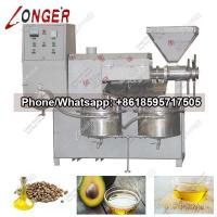 China Automatic Screw Hemp Seed/Avocado Oil Press Machine with High Quality wholesale