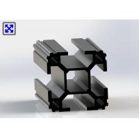 China 50 * 50 Black Anodized T Slot Aluminum Profile Over 2.0mm Thickness T5 State wholesale