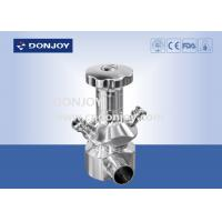 "China 1"" - 4'' sanitary level aseptic sampling valves with tank connector wholesale"