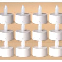 China Battery Operated Flickering Warm Light Flameless Tealight Led Candle on sale