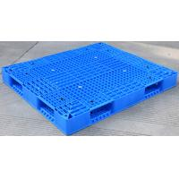 China Eco Friendly HDPE Plastic Pallets / Stackable Plastic Pallets With Reinforced Rims wholesale