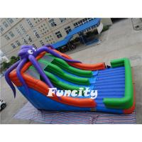 Buy cheap Octopus Inflatable Slide For Kids Slipping In The Long Slide from wholesalers