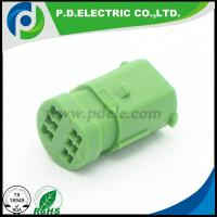 China 6 pin waterproof male female automotive electrical wire connector sealed auto housing plugs sockets wholesale