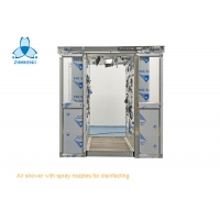 China 3 Side Blowing COVID-19 Sanitizing Cleanroom Air Shower wholesale