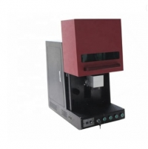 China 220V 50Hz ZCGX-DSRB-20w 100kHz Raycus Laser Marking Machine on sale