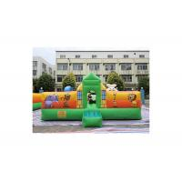 Buy cheap Silk Printing Funny Animal Themed Inflatable Fun City For Toddler from wholesalers