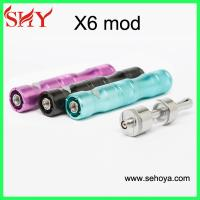China 2014 best e cig Kamry X6 mod with variable voltage colorful X6 battery wholesale