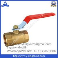 China Wog 400 Brass Ball Valve with Red Steel Handle wholesale