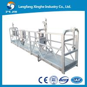 China 7.5m suspended working platform / electric gondola platform / suspended cradle scaffolds wholesale