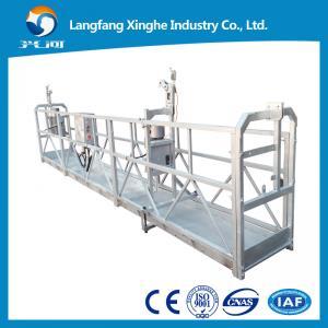 China 800kg suspended working platform / electric gondola platform / suspended cradle scaffolds wholesale