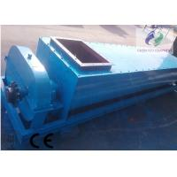 China Large Capacity Double Shafts Feed Screw Conveyor For Gypsum 40m Length wholesale