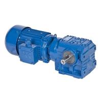 China S Series Helical Worm Speed Transmission Gear Box Electric Drive Motor Reducer wholesale