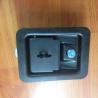 China Black coated industrial cabinet 3 point locking paddle lock wholesale