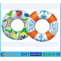 China Dia 80cm Kids Swimming Ring,100% Leak Proof Inflatable Pool Tubes And Rings wholesale