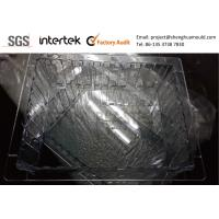 China Valve Gate Hot Runner Injection Molding Clear PC Tray for Hospital Storage System wholesale