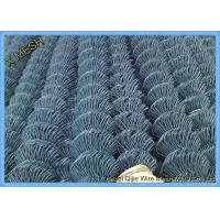 Quality Security Fence galvanized chain link fence fabric roll Building Material for sale