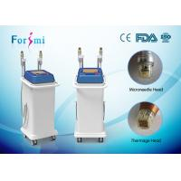 China gradual improvement in appearance microneedle fractional radiofrequency thermage skin tightening machine wholesale