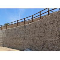 China Woven or Welded Type Galvanized Gabion Stone Basket For Retaining Wall wholesale