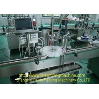 China Durable Liquid Filling Equipment / CE Small Bottle Filling Machine wholesale