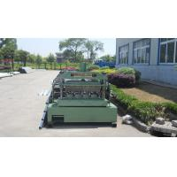 China Metal Roll Forming Equipment , Galvanized Floor Decking Forming Machine wholesale