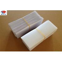 China Stickly Magic Self Adhesive Hook And Loop Tape , White Nylon Hook And Loop Square Shape on sale