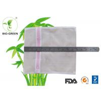 China Multi Functional Mesh Laundry Bags , Double Zipper Wet Bag For Cloth Nappies wholesale