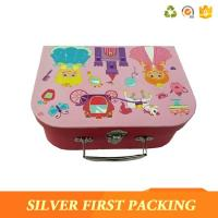 China Silverfirst Custom Cardboard Children Suitcase Gift Box Wedding Favor Box wholesale